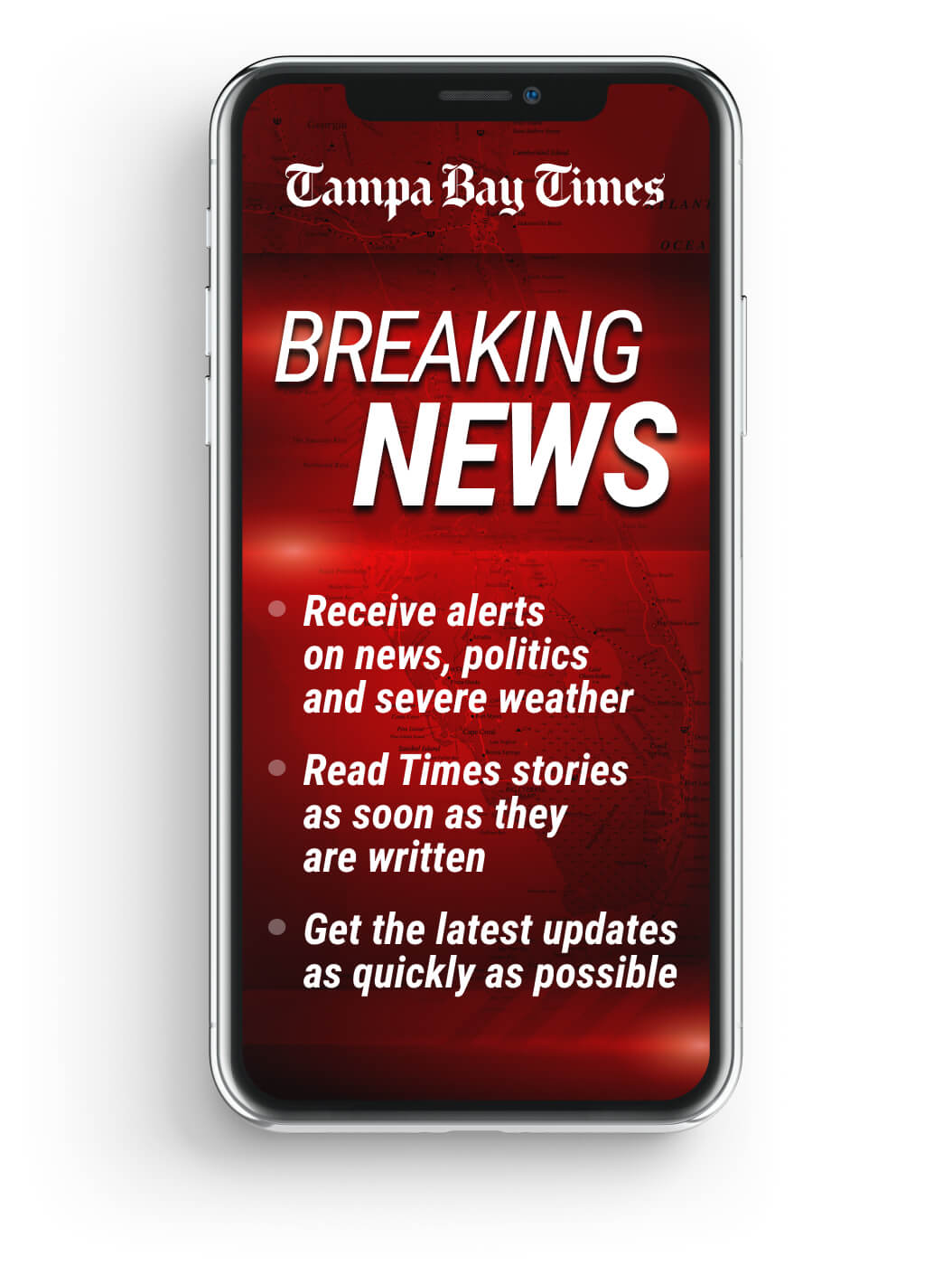 The Tampa Bay Times 'Breaking News' newsletter