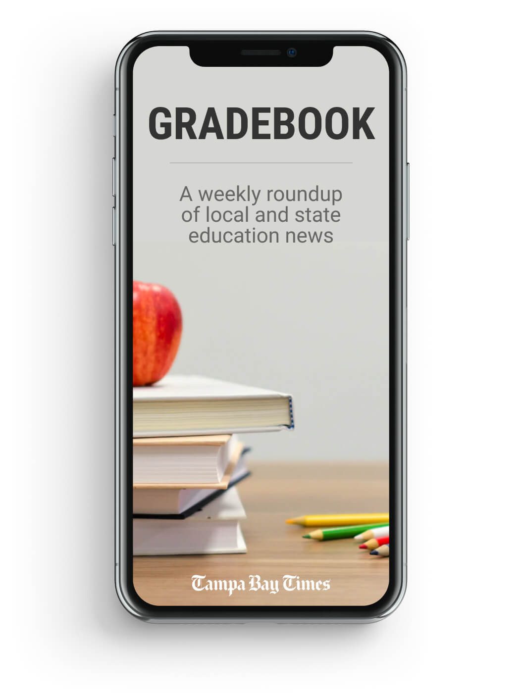 The Tampa Bay Times 'Gradebook' newsletter
