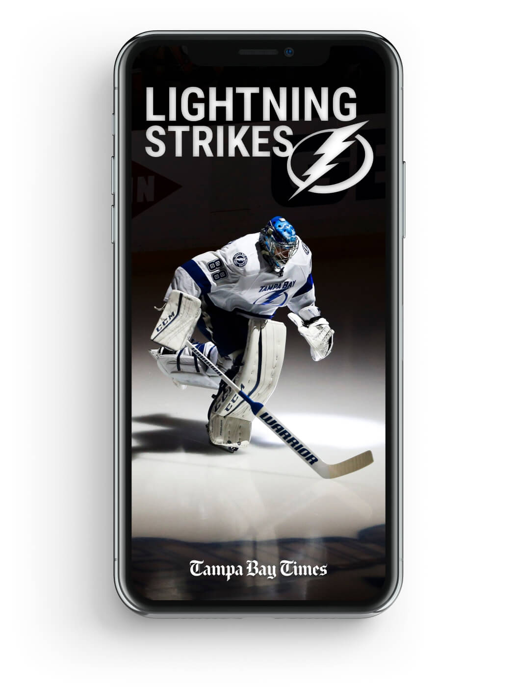 The Tampa Bay Times 'Lightning Strikes' newsletter