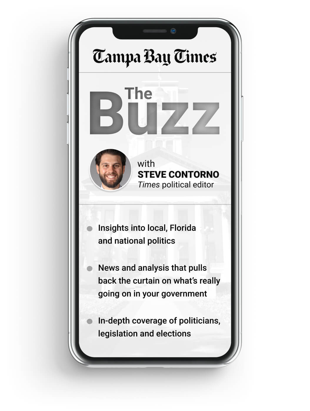 The Tampa Bay Times 'The Buzz with Steve Contorno' newsletter